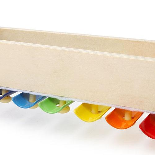 Top Bright cymbałki drewniane - Żabka zdjęcie 3