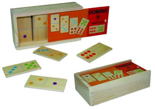 Top Bright domino drewniane tradycyjne 28 el. zdjęcie 1