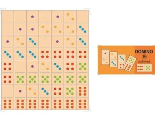 Top Bright domino drewniane tradycyjne 28 el. zdjęcie 2