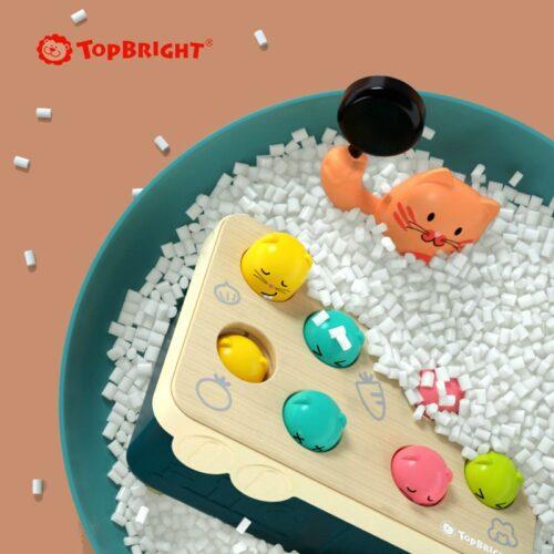 Top Bright gra Szybkie Uderzenie - kotek i myszka zdjęcie 3