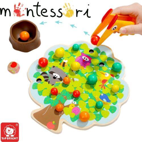 Top Bright gra drewniana Montessori - jabłuszka zdjęcie 16