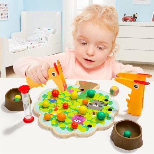 Top Bright gra drewniana Montessori - jabłuszka zdjęcie 14