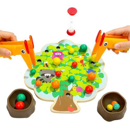 Top Bright gra drewniana Montessori - jabłuszka zdjęcie 12