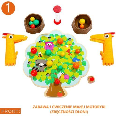 Top Bright gra drewniana Montessori - jabłuszka zdjęcie 1