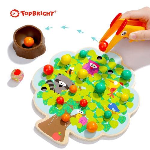 Top Bright gra drewniana Montessori - jabłuszka zdjęcie 8