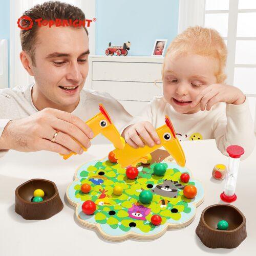 Top Bright gra drewniana Montessori - jabłuszka zdjęcie 7