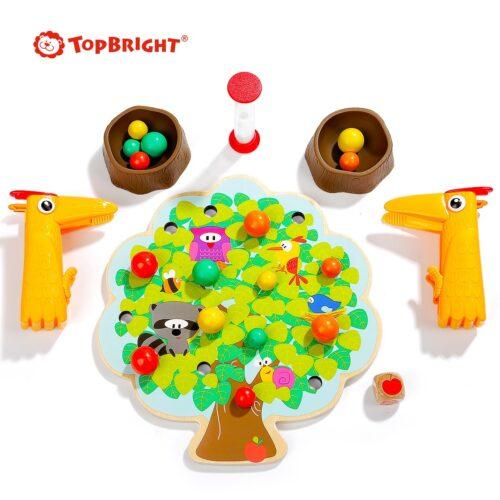 Top Bright gra drewniana Montessori - jabłuszka zdjęcie 9