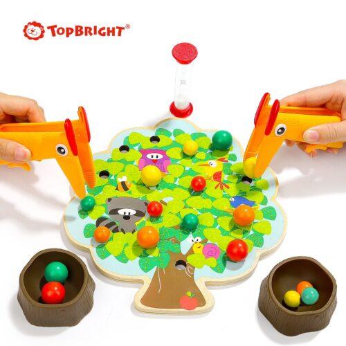 Top Bright gra drewniana Montessori - jabłuszka zdjęcie 6