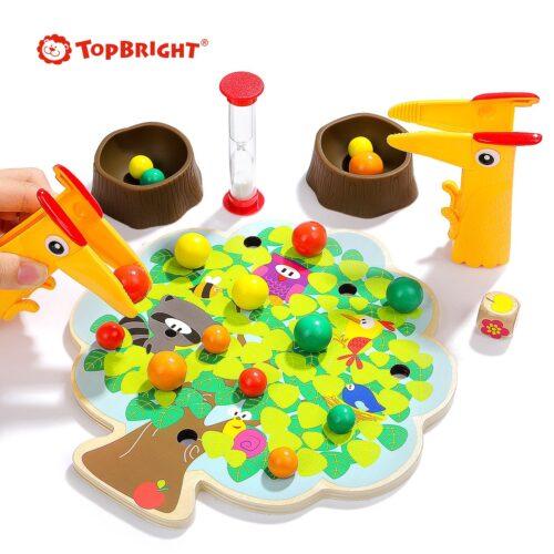 Top Bright gra drewniana Montessori - jabłuszka zdjęcie 5