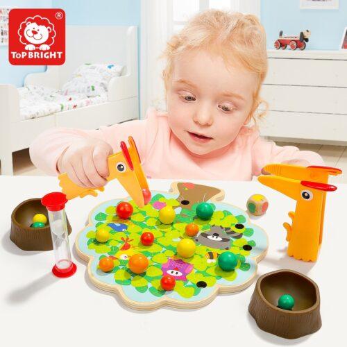 Top Bright gra drewniana Montessori - jabłuszka zdjęcie 4