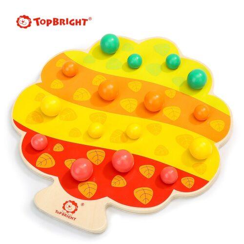 Top Bright gra drewniana Montessori - jabłuszka zdjęcie 3