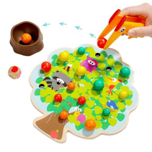 Top Bright gra drewniana Montessori - jabłuszka zdjęcie 2