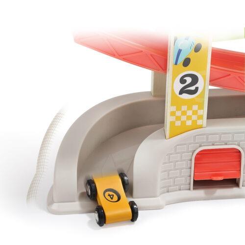 Top Bright drewniany tor samochodowy - 4 rampy, garaż i myjnia zdjęcie 21