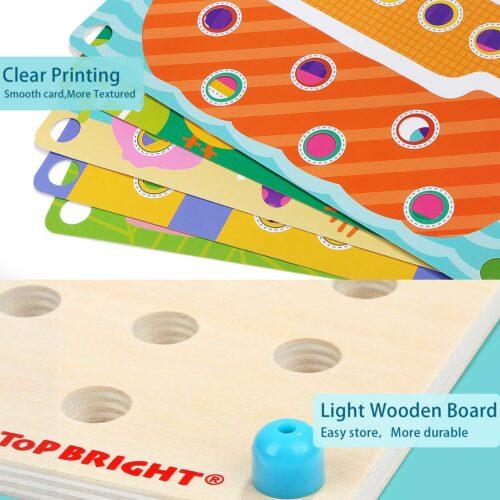 Top Bright kreatywna układanka mozaika - guziki zdjęcie 23