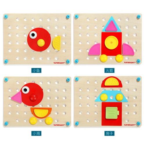 Top Bright kreatywna układanka mozaika - guziki zdjęcie 9