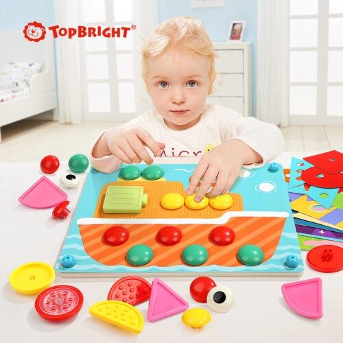Top Bright kreatywna układanka mozaika - guziki zdjęcie 6