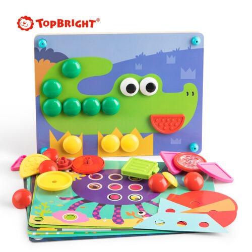 Top Bright kreatywna układanka mozaika - guziki zdjęcie 5