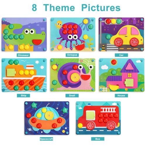 Top Bright kreatywna układanka mozaika - guziki zdjęcie 2