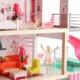 Top Bright duży drewniany domek dla lalek z basenem miniaturka 2