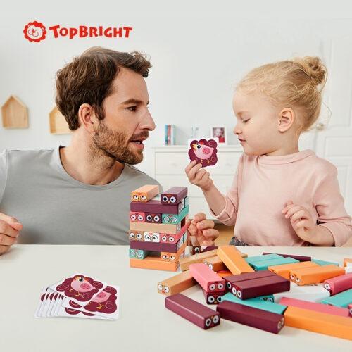 Top Bright drewniana gra - wieża Kurki zdjęcie 4