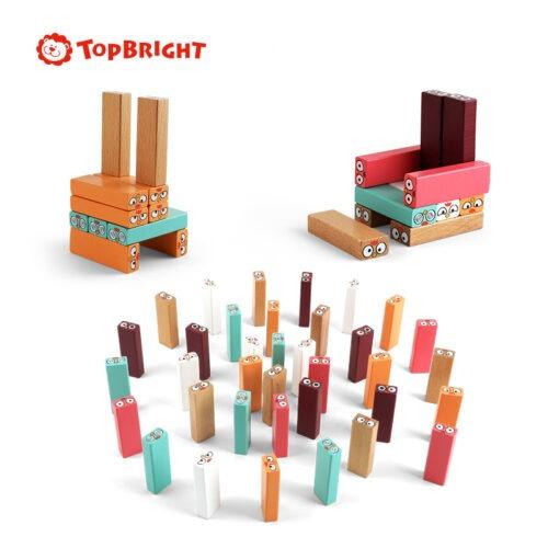 Top Bright drewniana gra - wieża Kurki zdjęcie 2
