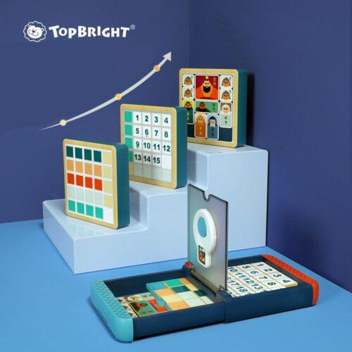 Top Bright zestaw gier logicznych 3 w 1 zdjęcie 3