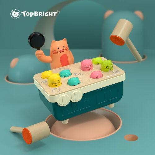 Top Bright gra Szybkie Uderzenie - kotek i myszka zdjęcie 5