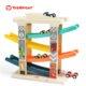Top Bright drewniany tor samochodowy -  4 rampy miniaturka 10