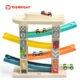 Top Bright drewniany tor samochodowy -  4 rampy miniaturka 9