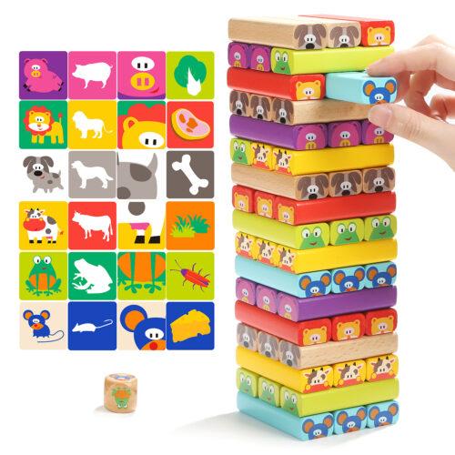 Top Bright drewniana gra - wieża Zwierzęta zdjęcie 15