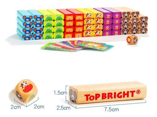 Top Bright drewniana gra - wieża Zwierzęta zdjęcie 32
