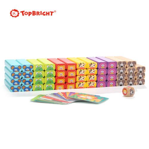 Top Bright drewniana gra - wieża Zwierzęta zdjęcie 9
