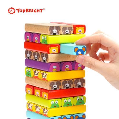 Top Bright drewniana gra - wieża Zwierzęta zdjęcie 27