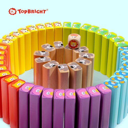 Top Bright drewniana gra - wieża Zwierzęta zdjęcie 26
