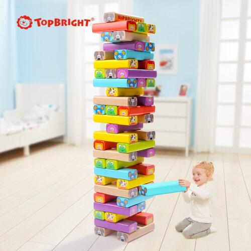 Top Bright drewniana gra - wieża Zwierzęta zdjęcie 8