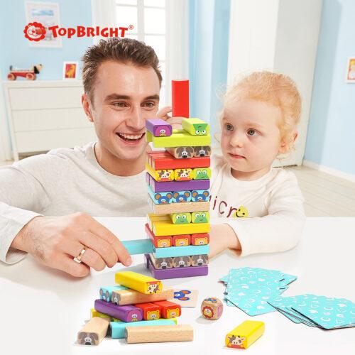 Top Bright drewniana gra - wieża Zwierzęta zdjęcie 23