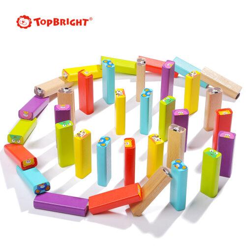 Top Bright drewniana gra - wieża Zwierzęta zdjęcie 22