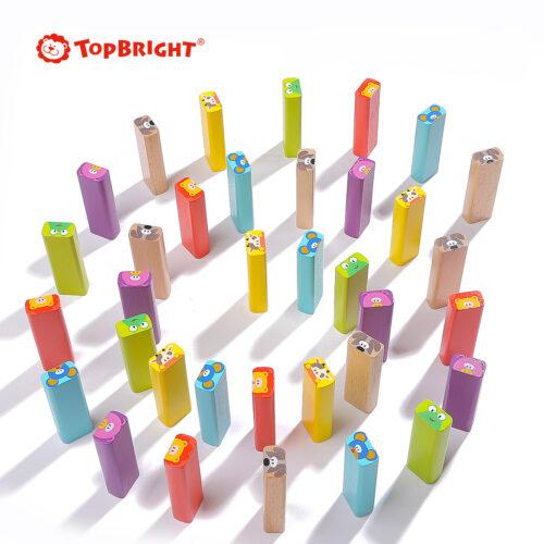 Top Bright drewniana gra - wieża Zwierzęta zdjęcie 21