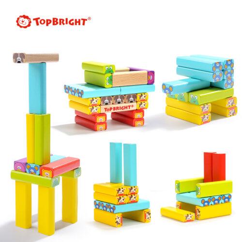 Top Bright drewniana gra - wieża Zwierzęta zdjęcie 20