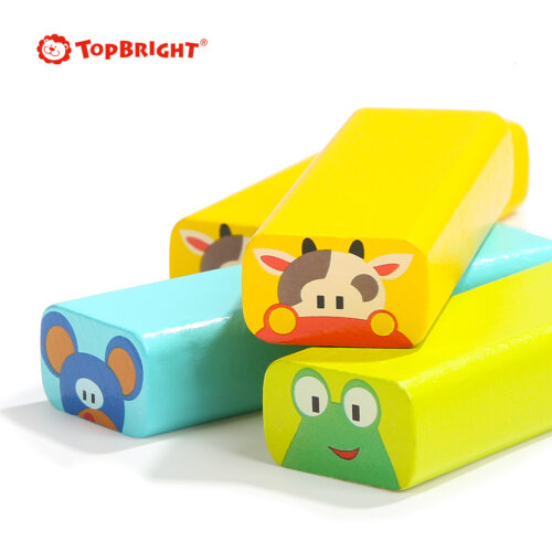 Top Bright drewniana gra - wieża Zwierzęta zdjęcie 19