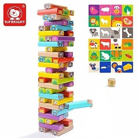Top Bright drewniana gra - wieża Zwierzęta zdjęcie 6