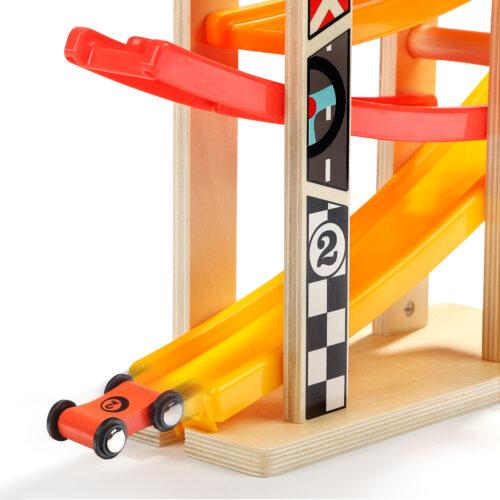 Top Bright drewniany tor samochodowy - 6 ramp zdjęcie 7
