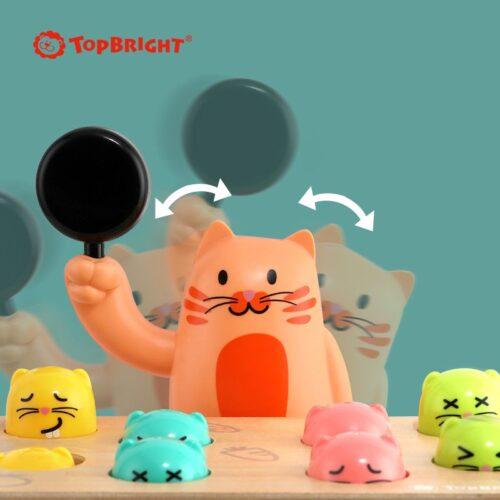 Top Bright gra Szybkie Uderzenie - kotek i myszka zdjęcie 8